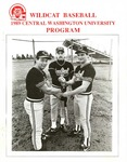 1989 Central Washington University Wildcat Baseball Program