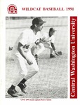 1991 Central Washington University Wildcat Baseball
