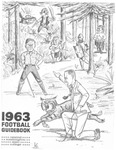 1963 Central Washington State College Football Guidebook by Central Washington University Athletics
