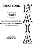 1981 NAIA Men's and Women's National Basketball Championship Tournament Press Book