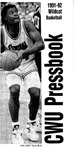 1991-1992 Central Washington University Wildcat Basketball Pressbook