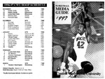 1997 Central Washington University Basketball Media Guide