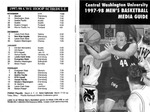 1997-1998 Central Washington University Men's Basketball Media Guide