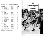 1994-1995 Central Washington University Basketball Media Guide