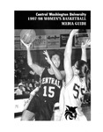 1997-1998 Central Washington University Women's Basketball Media Guide