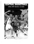 1998-1999 Central Washington University Basketball Media Guide
