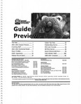 2000-2001 Central Washington University Men's Basketball Guide Preview