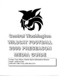 2000 Central Washington University Wildcat Football Preseason Media Guide