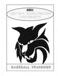 2001 Central Washington University Baseball Yearbook