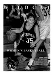 1999-2000 Central Washington University Wildcat Women's Basketball Media Guide