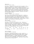 Central Washington University Women's Basketball Player Profiles, 1994-1995