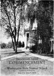 1933 Commencement of Washington State Normal School 1928