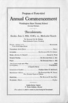Commencement of Washington State Normal School