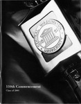 2001 Central Washington University Commencement