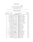 Division II Cross Country Championships, Women Individual Results