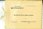 First Annual Commencement of Washington State Normal School by Central Washington University