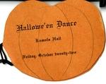 Hallowe'en Dance Kamola Hall Friday, October twenty-two