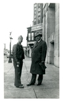 Kenneth Courson and unknown man