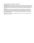 Central Washington University Football, Julian Hamm Biography