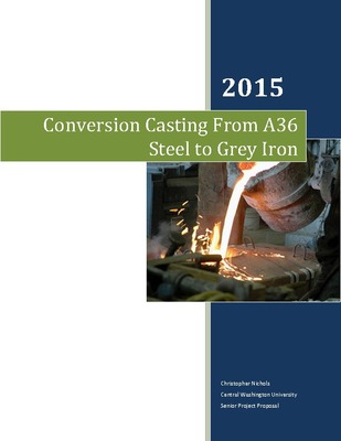 Conversion Casting From A36 Steel to Grey Iron