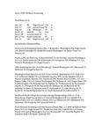 Central Washington University Men's Swimming Summaries, 1993-1994