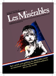 """Les Misérables"" Promotional Postcard by Central Theatre Ensemble and Central Washington University"
