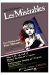 """Les Misérables"" Promotional Poster by Central Theatre Ensemble and Central Washington University"