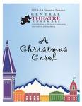 """""""A Christmas Carol"""" Program"""