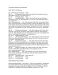 Central Washington University Men's Track and Field Review, 1999