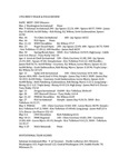 Central Washington University Men's Track and Field Review, 1996