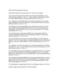 Central Washington University Wrestling Tournaments, 1993-1994
