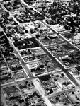 Aerial View of Ellensburg Business District II