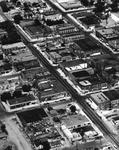 Aerial View of Ellensburg Business District V