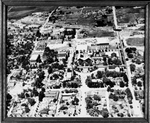 Aerial view of Ellensburg Business District III