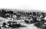 View of Ellensburg Congregational Church and Residential Area