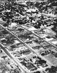 Aerial View of Ellensburg Business District IV