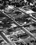 Aerial View of Ellensburg Business District VII