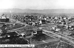 Southwest View of Ellensburg and Washington School