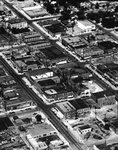 Aerial View of Ellensburg Business District VI