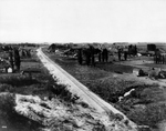 Ellensburg View With Railroad Tracks