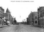 Fourth Street with Horses and Wagon