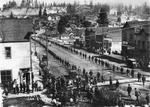 Labor Day Parade, Cle Elum, 1917