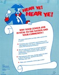 Hear Ye, Hear Ye: Why Your Census Job Is Vital to the Nation and Your Community