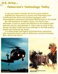 U.S. Army--Tomorrow's Technology Today