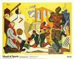Mural of Sports: A New Deal for American Art
