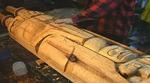 Lelooska Tsungani Totem Carving