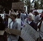 Student Protest at CWU  from May 26, 1993