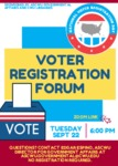 Voter Registration Forum by Central Washington University
