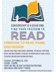 FREEDOM TO READ PANEL DISCUSSION by Central Washington University