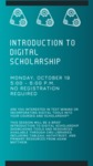 Introduction to Digital Scholarship